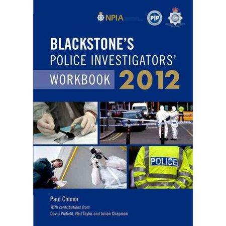 Blackstones Police Investigators Workbook