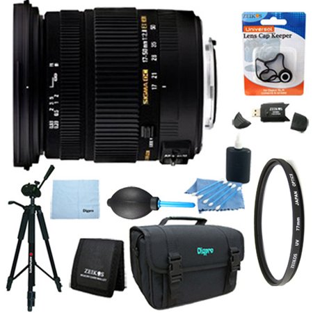 Sigma 17-50mm f/2.8 EX DC OS HSM FLD Standard Zoom Lens for