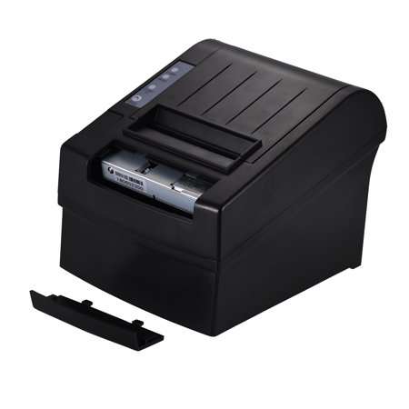 80mm Thermal Receipt Printer Compatible with ESC/POS Commands Bill Ticket High Speed Printing Professional Payment Machine USB Serial Ethernet Port for Home Business Shop Supermarket