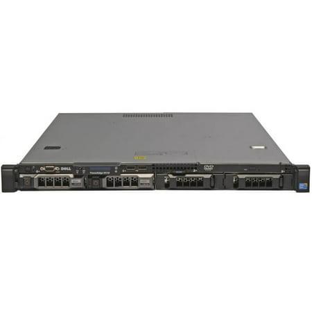 "Refurbished Dell PowerEdge R410 4 x 3.5"" Hot Plug X5670 Six Core 2.93Ghz 8GB 2x 500GB SAS 6i/R 2x 500W - image 1 de 2"