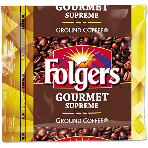 Folgers Gourmet Supreme Ground Coffee, 1.75 oz, 42 count