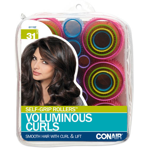 Conair Styling Essentials Self-Grip Rollers, 31ct