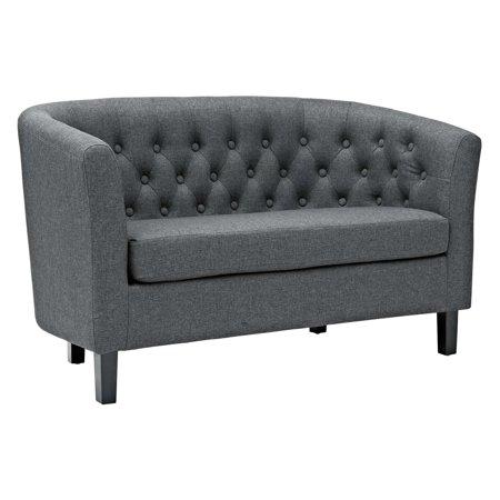 Oak Upholstered Loveseat - Modway Prospect Upholstered Loveseat, Multiple Colors