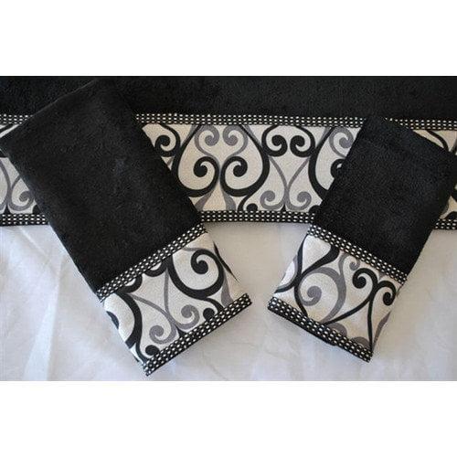 Easy Living Abingdon 3-Piece Decorative Towel Set