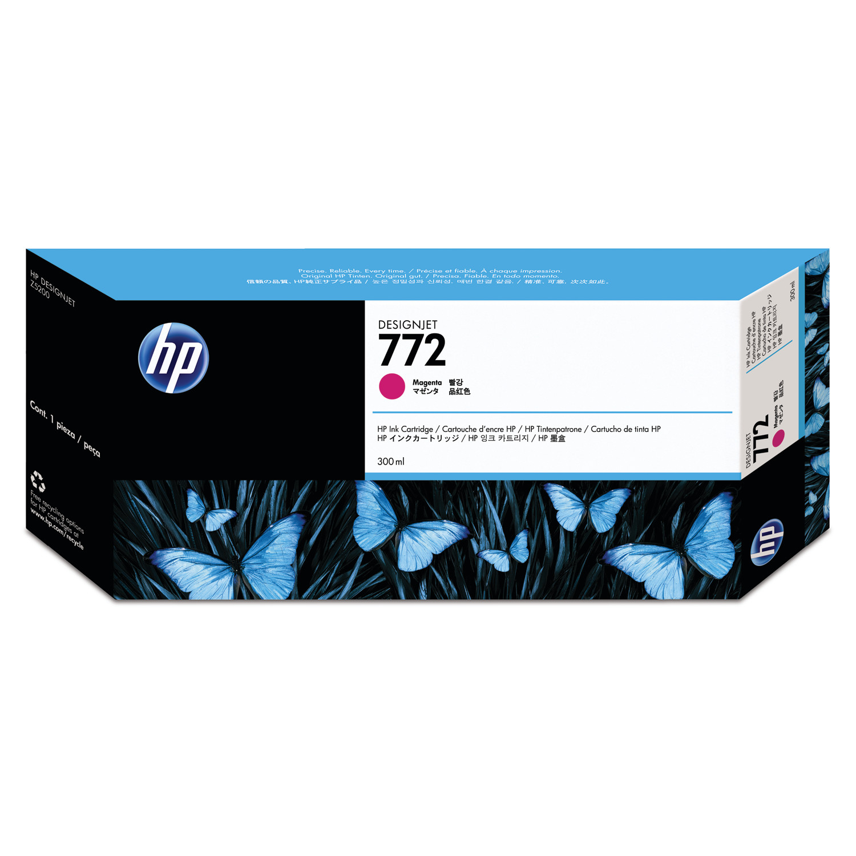 HP 771, (CR252A) 3-pack Magenta Original Ink Cartridges
