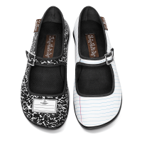 Hot Chocolate Design Women's Mary Jane Flat Shoes Chocolaticas Notebook Size: 35 HCD/ 5 US/ 9.05""