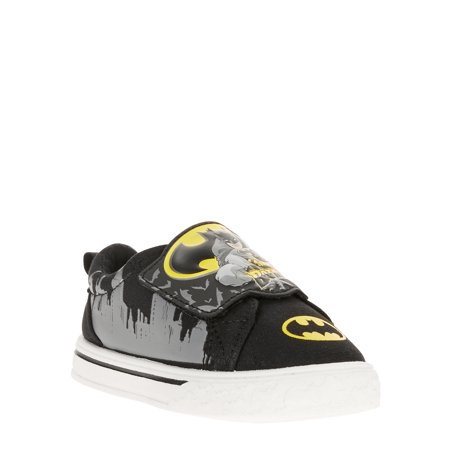 c03baf34cc58 BATMAN - Toddler Boys  Batman Dc Comics Licensed Casual Sneakers -  Walmart.com