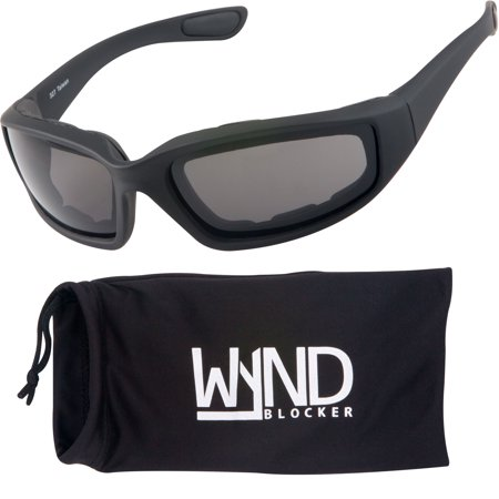 WYND Blocker Polarized Sports & Motorcycle Sunglasses Running Golfing Driving (Womens Running Sunglasses)