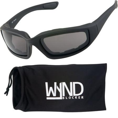 WYND Blocker Polarized Sports & Motorcycle Sunglasses Running Golfing Driving (Best Running Sunglasses)