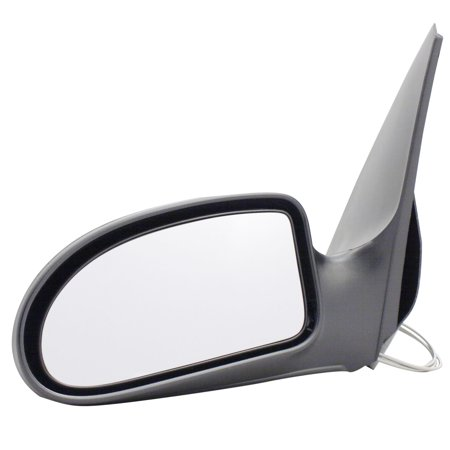For Ford Focus Black Manual Remote Replacement Driver Side Mirror (FD0619410-3L00) Manual Remote Side Mirror