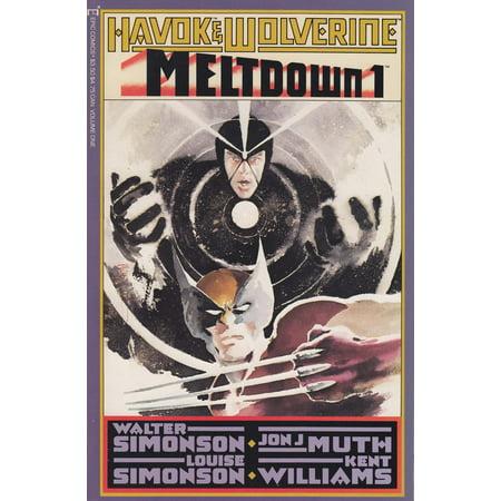 Epic Comics Havok & Wolverine #1 Meltdown](Davey Havok Halloween)