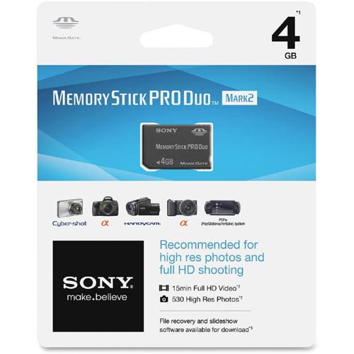 Sony 4GB Pro Duo Memory Stick