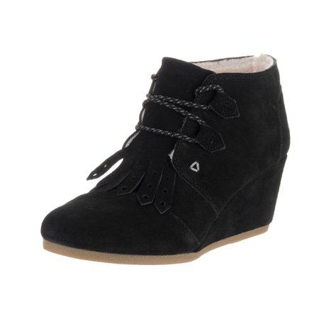 Toms Women's Desert Wedge Casual Shoe