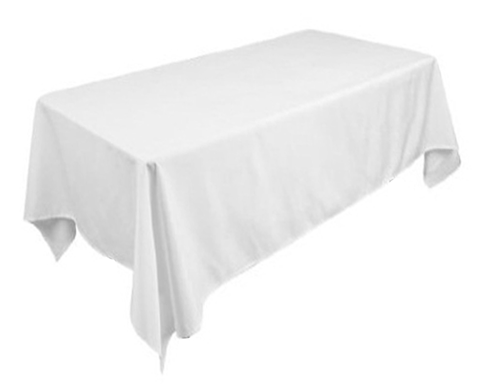for Restaurant ThickHeavy DutyProtection for Tables Tektrum 72 X 108 inch 72X108 Rectangular Polyester Tablecloth Parties Dinner
