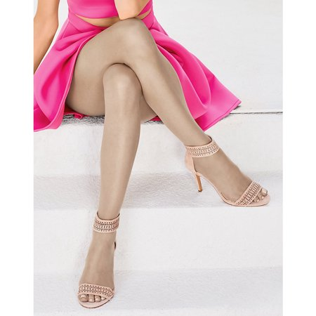 3d13a7d5402 Hanes - Silk Reflections Womens Lasting Sheer Control Top Toeless Pantyhose  - Walmart.com
