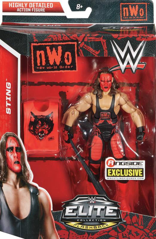 Sting (NWO Wolfpac) Ringside Exclusive WWE Toy Wrestling Action Figure by