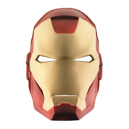 The avengers iron man adult vacuform mask - Masque iron man adulte ...