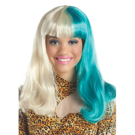 Adult Half and Half Wig by Party King WG607, One Size (King Wig)