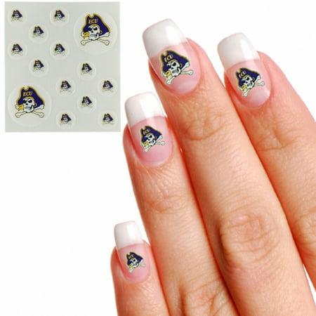 East Carolina Pirates Waterless Fingernail & Face Tattoos - No Size](Carolina Panthers Tattoo)