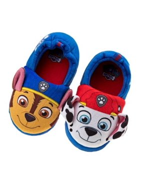 Chase and Marshall Kids Slippers Paw Patrol