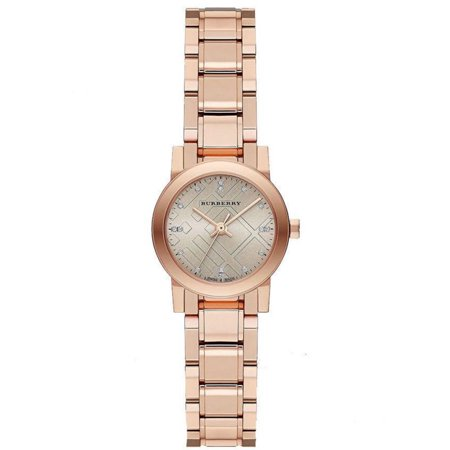 Burberry BU9215 Heritage Rose Gold Swiss Made Womens