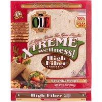 Ole Mexican Ole Xtreme Wellness! Tortilla Wraps, 8 ea