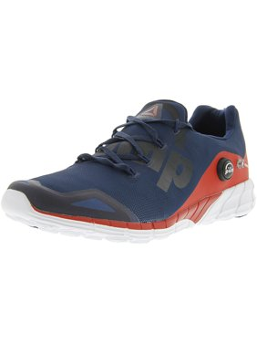 9b509052f4ef1 Product Image Reebok Men s Zpump Fusion 2.0 Blue   Red White Ankle-High  Running Shoe - 13M