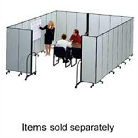 - Screenflex Freestanding 13 Panels Portable Partition - 24.10 Ft Length X 72