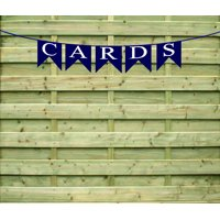 Cards Navy  Paper Garland Bunting Party Decoration Banner