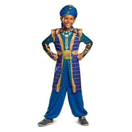 Genie Halloween Costume Accessories (Boy's Genie Classic Halloween Costume - Aladdin Live)