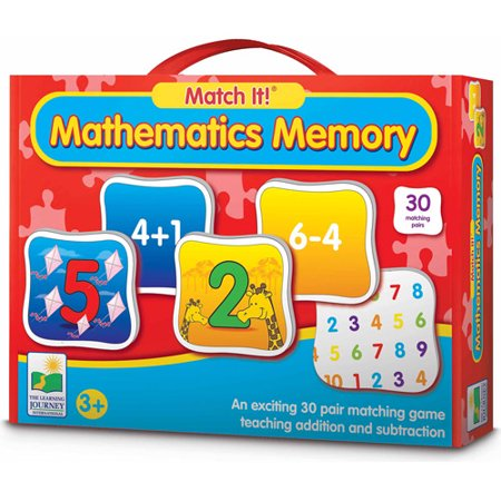 Learning Memory Box (The Learning Journey Match It! Memory, Mathematics)