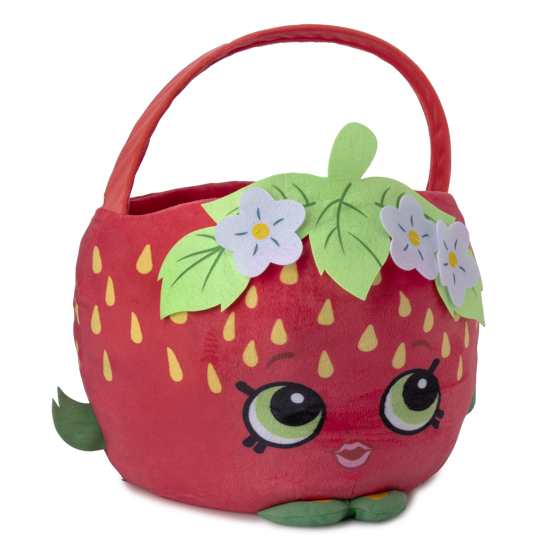 Way To Celebrate Shopkins Jumbo Plush Strawberry Kiss Easter Bucket
