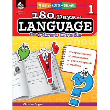 Language Toys (180 Days of Language for First Grade (Grade 1) : Practice, Assess,)