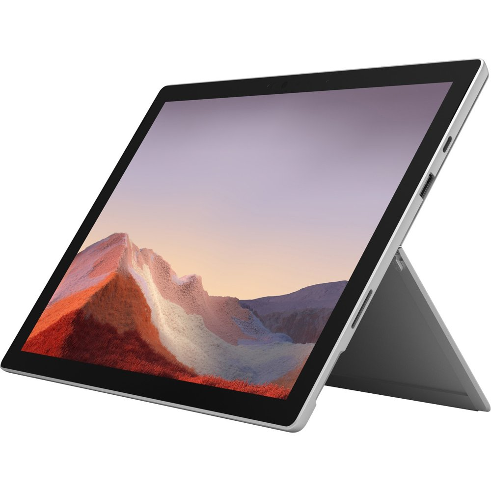 """Microsoft Surface 12"""" Pro 7 Windows 2-in-1 Computer Intel Core i7 16GB DDR 256GB SSD Platinum VNX-00001 (Type Cover Sold Separately)"""