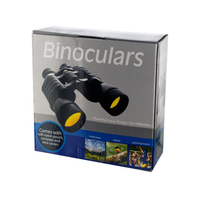 Bulk Buys OB411-3 Binoculars With Compass