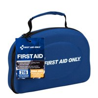 First Aid Only 50 Person ANSI A+ 216 Piece First Aid Kit, Fabric