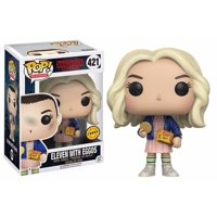 Funko Pop Stranger Things Eleven In Wig with Eggos Chase Action Figure