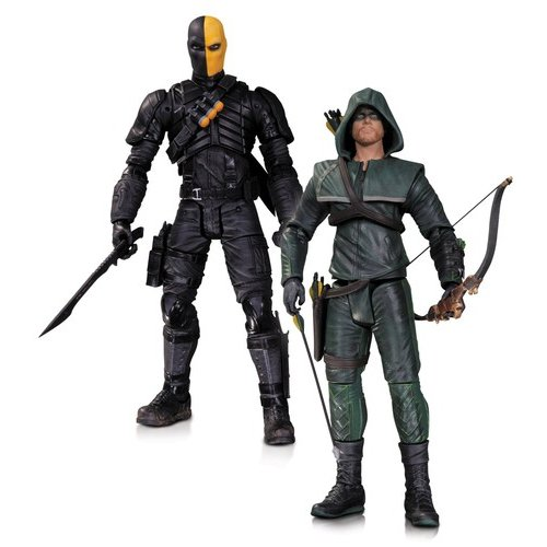 DC Comics Arrow Oliver Queen and Deathstroke Action Figures Pack