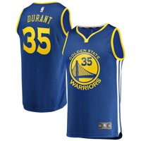 Kevin Durant Golden State Warriors Fanatics Branded Youth Fast Break Replica Jersey Royal - Icon Edition