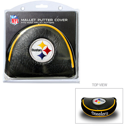 Team Golf NFL Pittsburgh Steelers Golf Mallet Putter Cover