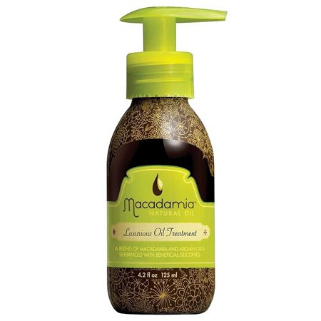 Macadamia Natural Oil, Luxurious Oil Treatment, A Blend of Macadamia and Argan Oils, 4.2 Oz