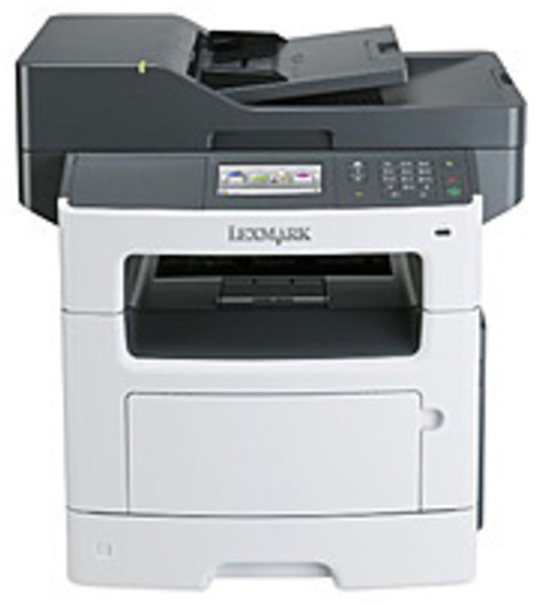 Refurbished Lexmark 35S5703 MX511de B/W Multifunction Printer with Scanner, Copier, Fax - Monochrome - 45 ppm - 1200 x 1200 dpi - USB 2.0