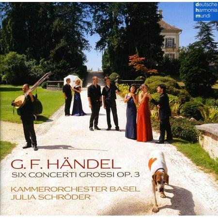 Concerti Grossi Nos (Handel: Concerti Grossi Nos 1 - 6 )