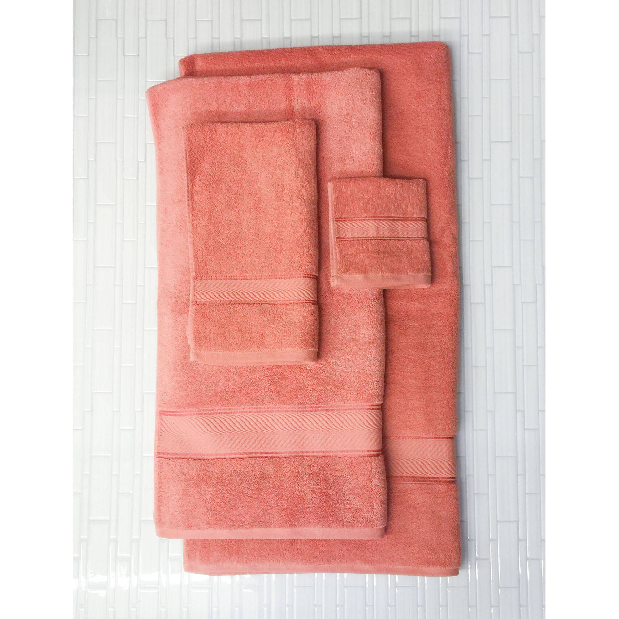 Better Homes And Gardens Thick And Plush Hand Towel, Gulf Coral