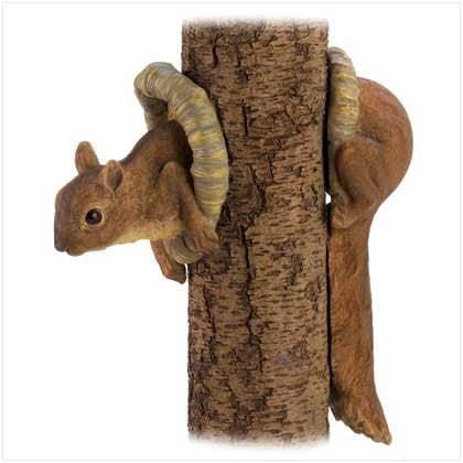 - Woodland Squirrel Tree Decor 2PK