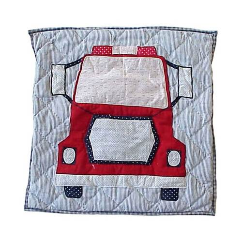 Fire Truck Firetruck Toss Pillow