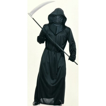 - Adult Mens Mesh Face Robe - Size STANDARD