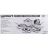 Cuisinart Chef's Classic Stainless Color Series 11 Piece Cookware Set, White