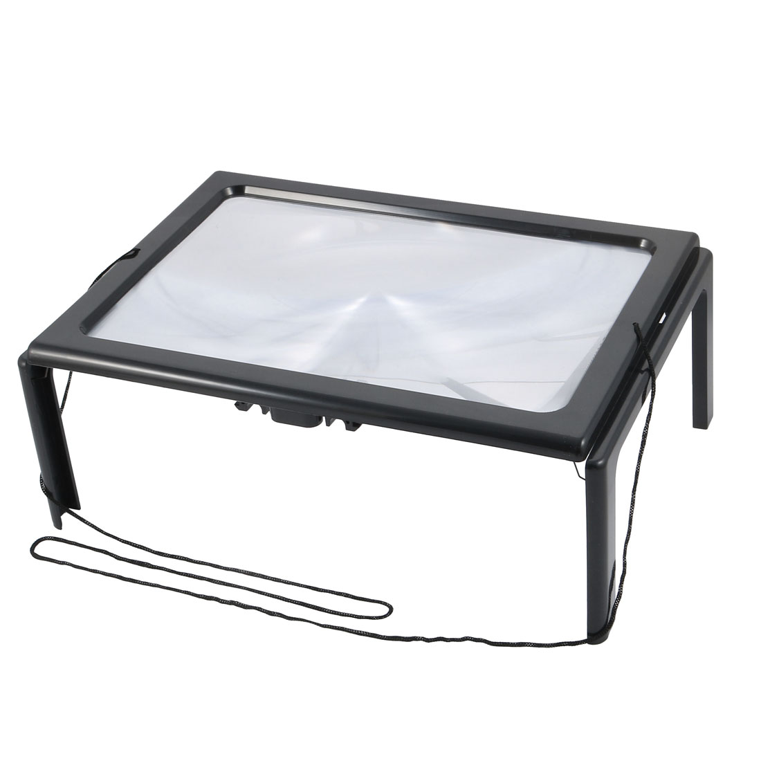 Hands Free Magnifier Illuminated Magnifier Reading Magnifying Glass w  Light