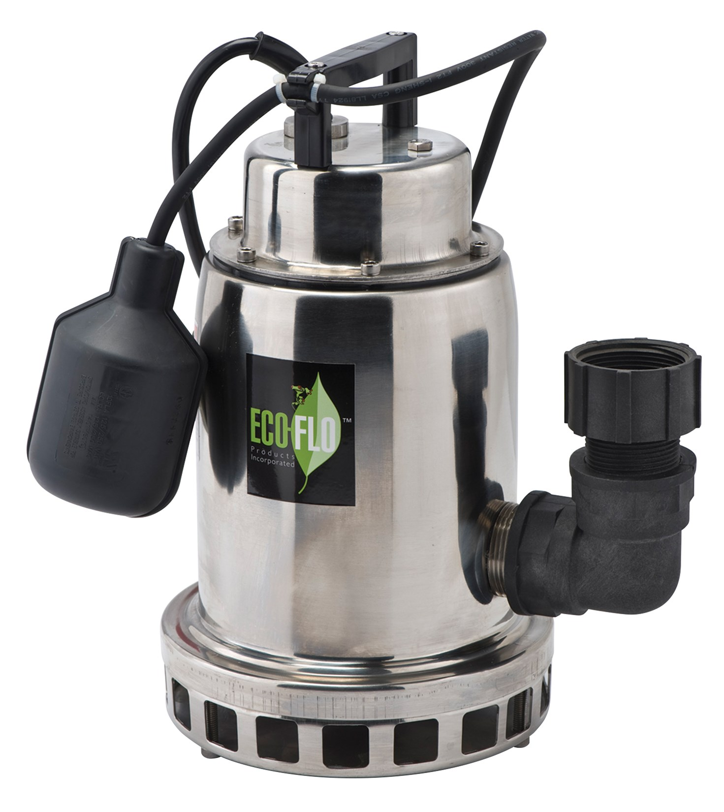 Eco Flo SEP75W 3/4 HP Stainless Steel Water Fountain Utility Pump